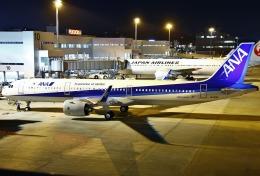 あしゅーさんが、福岡空港で撮影した全日空 A321-272Nの航空フォト(飛行機 写真・画像)