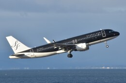 PIRORINGさんが、中部国際空港で撮影したスターフライヤー A320-214の航空フォト(飛行機 写真・画像)