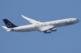 いんちゃんさんが、羽田空港で撮影したルフトハンザドイツ航空 A340-313Xの航空フォト(飛行機 写真・画像)