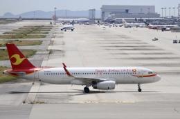 344さんが、関西国際空港で撮影した天津航空 A320-232の航空フォト(飛行機 写真・画像)