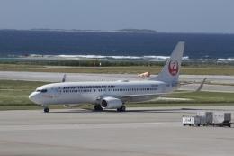 344さんが、那覇空港で撮影した日本トランスオーシャン航空 737-8Q3の航空フォト(飛行機 写真・画像)
