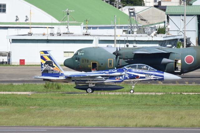 SKULLさんが、名古屋飛行場で撮影した航空自衛隊 F-15DJ Eagleの航空フォト(飛行機 写真・画像)