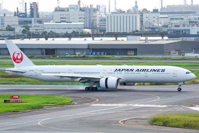 tatsu777787さんが、羽田空港で撮影した日本航空 777-346/ERの航空フォト(飛行機 写真・画像)