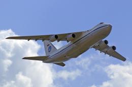 ちゃぽんさんが、ジュコーフスキー空港で撮影したロシア空軍 An-124 Ruslanの航空フォト(飛行機 写真・画像)