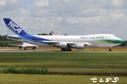 tassさんが、成田国際空港で撮影した日本貨物航空 747-4KZF/SCDの航空フォト(飛行機 写真・画像)