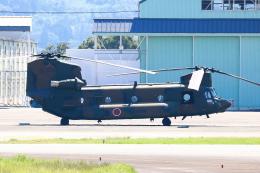 Zakiyamaさんが、熊本空港で撮影した陸上自衛隊 CH-47Jの航空フォト(飛行機 写真・画像)