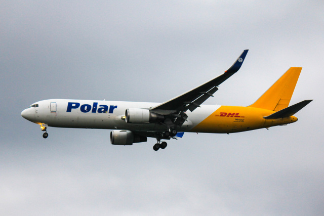 かっちゃん✈︎さんが、成田国際空港で撮影したポーラーエアカーゴ 767-3JHF(ER)の航空フォト(飛行機 写真・画像)
