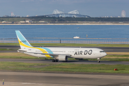 Y-Kenzoさんが、羽田空港で撮影したAIR DO 767-381/ERの航空フォト(飛行機 写真・画像)