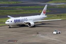 メンチカツさんが、羽田空港で撮影した日本航空 777-246/ERの航空フォト(飛行機 写真・画像)