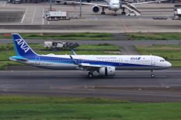 やつはしさんが、羽田空港で撮影した全日空 A321-272Nの航空フォト(飛行機 写真・画像)