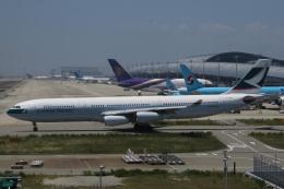 じゃがさんが、関西国際空港で撮影したキャセイパシフィック航空 A340-313Xの航空フォト(飛行機 写真・画像)