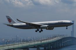 じゃがさんが、関西国際空港で撮影した中国国際航空 A330-343Xの航空フォト(飛行機 写真・画像)