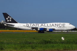 じゃがさんが、成田国際空港で撮影したユナイテッド航空 747-422の航空フォト(飛行機 写真・画像)
