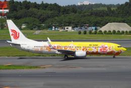 じゃがさんが、成田国際空港で撮影した中国国際航空 737-89Lの航空フォト(飛行機 写真・画像)