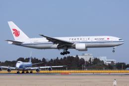 じゃがさんが、成田国際空港で撮影した中国国際航空 777-2J6の航空フォト(飛行機 写真・画像)