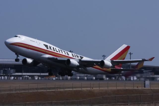 じゃがさんが、成田国際空港で撮影したカリッタ エア 747-446(BCF)の航空フォト(飛行機 写真・画像)