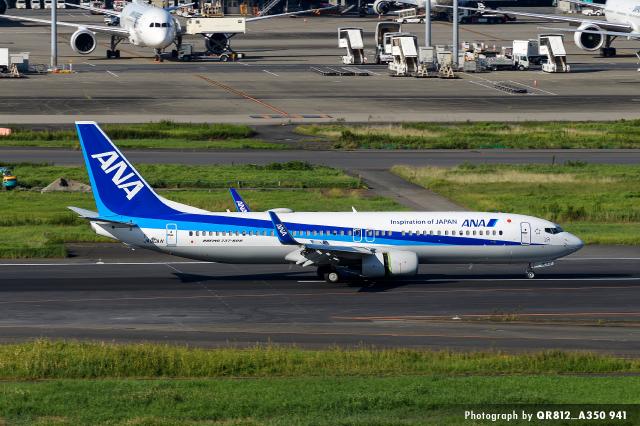 kina309さんが、羽田空港で撮影した全日空 737-8ALの航空フォト(飛行機 写真・画像)