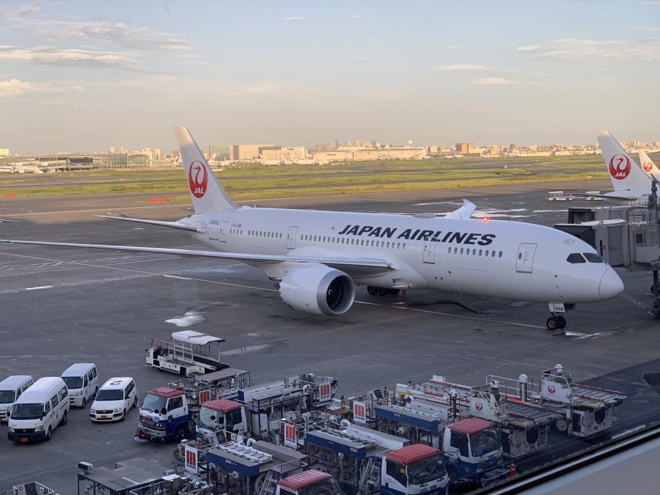 luvento2005さんの日本航空 Boeing 787-8 Dreamliner (JA848J) 航空フォト