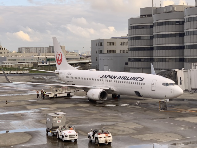 luvento2005さんが、羽田空港で撮影した日本航空 737-846の航空フォト(飛行機 写真・画像)