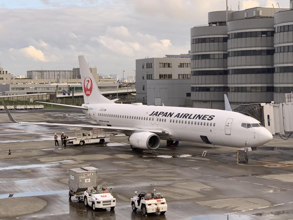 luvento2005さんの日本航空 Boeing 737-800 (JA328J) 航空フォト