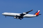 kaeru6006さんが、羽田空港で撮影したフィリピン航空 A340-313Xの航空フォト(飛行機 写真・画像)