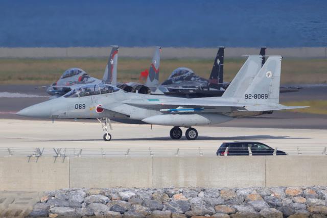 KANE0722さんが、那覇空港で撮影した航空自衛隊 F-15DJ Eagleの航空フォト(飛行機 写真・画像)