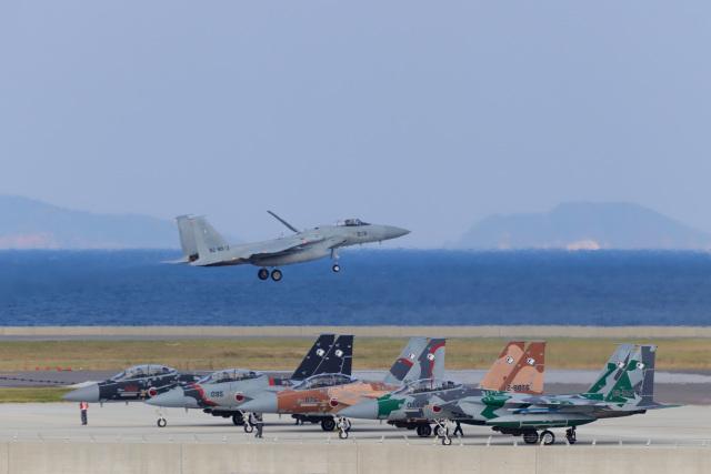 KANE0722さんが、那覇空港で撮影した航空自衛隊の航空フォト(飛行機 写真・画像)