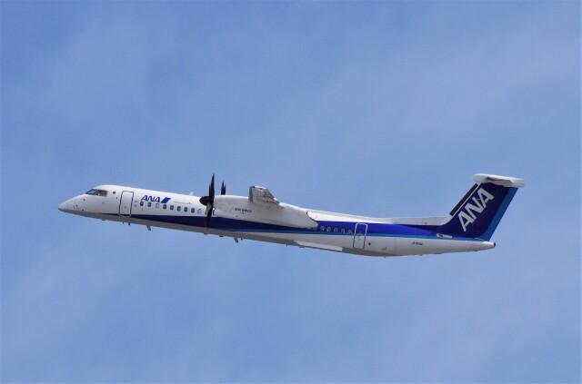 mild lifeさんが、伊丹空港で撮影したANAウイングス DHC-8-402Q Dash 8の航空フォト(飛行機 写真・画像)