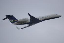K_UNITED®さんが、羽田空港で撮影したBrilliant Jet G500/G550 (G-V)の航空フォト(飛行機 写真・画像)