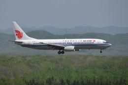 EC5Wさんが、新千歳空港で撮影した中国国際航空 737-8Q8の航空フォト(飛行機 写真・画像)