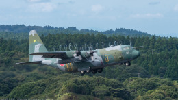 RZ Makiseさんが、種子島空港で撮影した航空自衛隊 C-130H Herculesの航空フォト(飛行機 写真・画像)