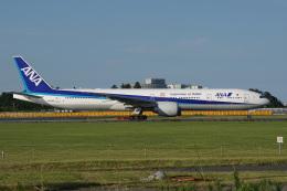 神宮寺ももさんが、成田国際空港で撮影した全日空 777-381/ERの航空フォト(飛行機 写真・画像)