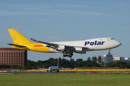 神宮寺ももさんが、成田国際空港で撮影したポーラーエアカーゴ 747-46NF/SCDの航空フォト(飛行機 写真・画像)