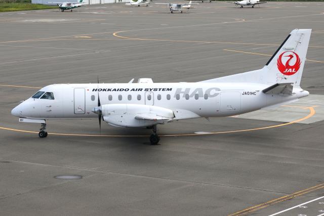 TIA spotterさんが、札幌飛行場で撮影した北海道エアシステム 340B/Plusの航空フォト(飛行機 写真・画像)