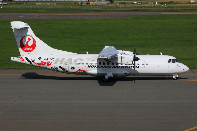 TIA spotterさんが、札幌飛行場で撮影した北海道エアシステム ATR-42-600の航空フォト(飛行機 写真・画像)