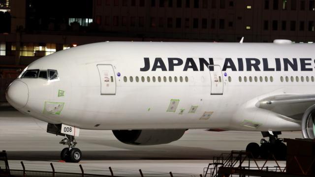 誘喜さんが、羽田空港で撮影した日本航空 777-289の航空フォト(飛行機 写真・画像)