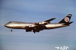 tassさんが、成田国際空港で撮影したフライング・タイガー・ライン 747-132(SF)の航空フォト(飛行機 写真・画像)