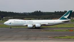 Nobu-oji_NEXUS6さんが、成田国際空港で撮影したキャセイパシフィック航空 747-867F/SCDの航空フォト(飛行機 写真・画像)