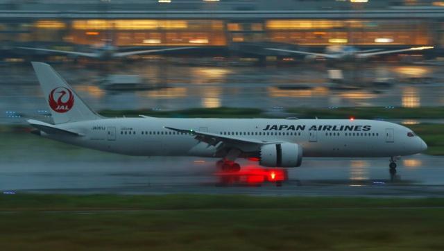 PON ちゃんさんが、羽田空港で撮影した日本航空 787-9の航空フォト(飛行機 写真・画像)