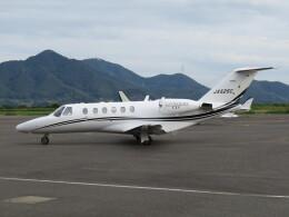 F.YUKIHIDEさんが、岡南飛行場で撮影したオートパンサー 525A Citation CJ2の航空フォト(飛行機 写真・画像)