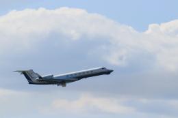 ゆなりあさんが、中部国際空港で撮影したユタ銀行 G-V-SP Gulfstream G550の航空フォト(飛行機 写真・画像)