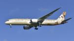 パンダさんが、成田国際空港で撮影したエティハド航空 787-9の航空フォト(飛行機 写真・画像)