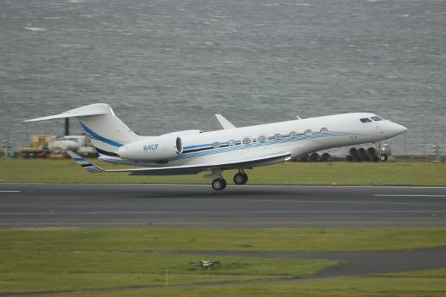 K_UNITED®さんが、羽田空港で撮影したPrivate owner G650 (G-VI)の航空フォト(飛行機 写真・画像)