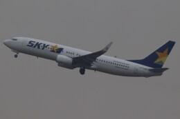BOEING737MAX-8さんが、羽田空港で撮影したスカイマーク 737-8ALの航空フォト(飛行機 写真・画像)