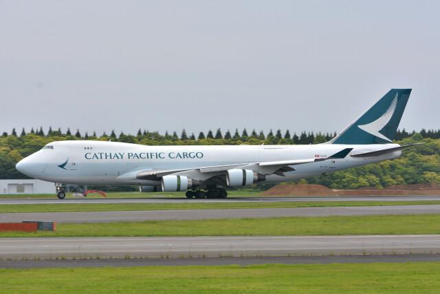 サンドバンクさんが、成田国際空港で撮影したキャセイパシフィック航空 747-467F/ER/SCDの航空フォト(飛行機 写真・画像)
