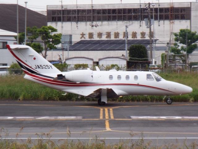 otromarkさんが、八尾空港で撮影したグラフィック 525A Citation CJ1の航空フォト(飛行機 写真・画像)