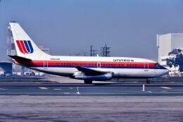 パール大山さんが、ロサンゼルス国際空港で撮影したユナイテッド航空 737-222の航空フォト(飛行機 写真・画像)
