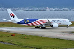 amagoさんが、関西国際空港で撮影したマレーシア航空 A350-941の航空フォト(飛行機 写真・画像)