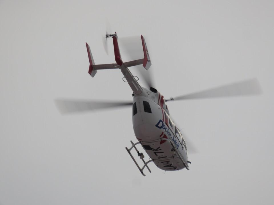 ランチパッドさんのセントラルヘリコプターサービス Kawasaki BK117 (JA117K) 航空フォト