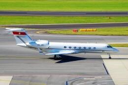 ちっとろむさんが、ウィーン国際空港で撮影したジェット・エイビエーション G500/G550 (G-V)の航空フォト(飛行機 写真・画像)